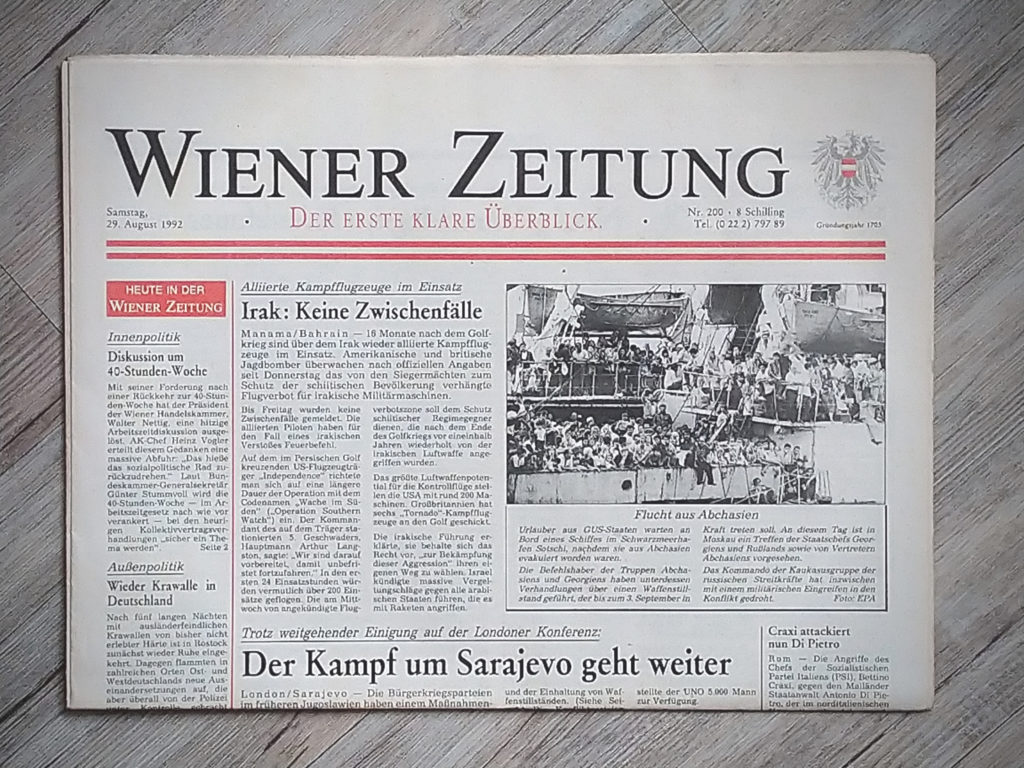 Zeitung Wien